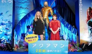 【写真】映画『アクアマン』アンバー・ハード来日スペシャルイベント