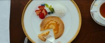 【画像】ホットケーキ (ハウスキーパーの雪倉が作るこのホットケーキは花穎の大好物)