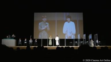 【写真】第12回 TAMA映画賞 授賞式 (ふくだももこ監督&松本穂香)