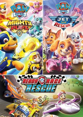 Paw Patrol Jet To The Rescue : patrol, rescue, Patrol:, Rescue,, Ready, Mighty, Pack)