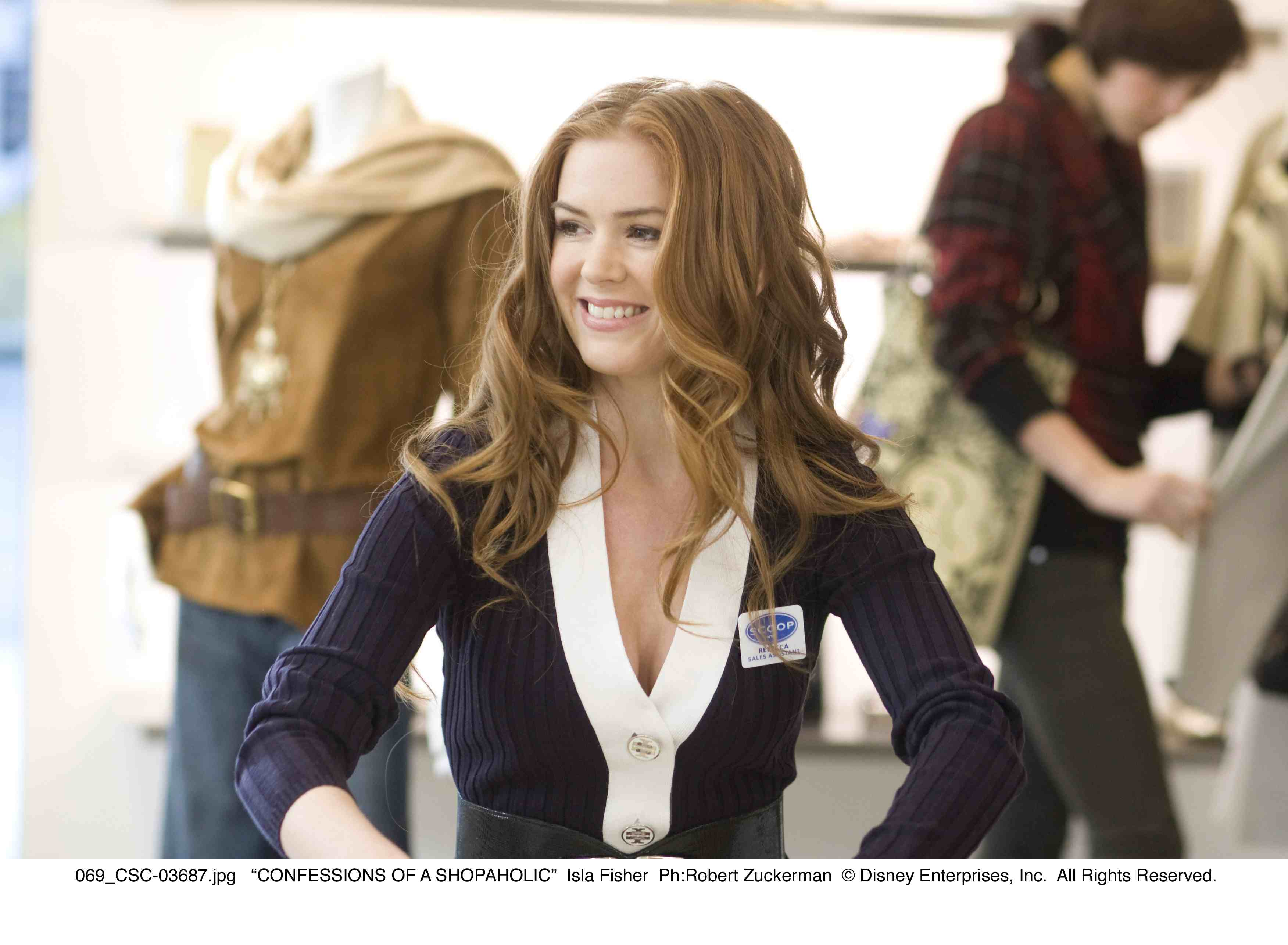 Becky Bloomwood (Isla Fisher)