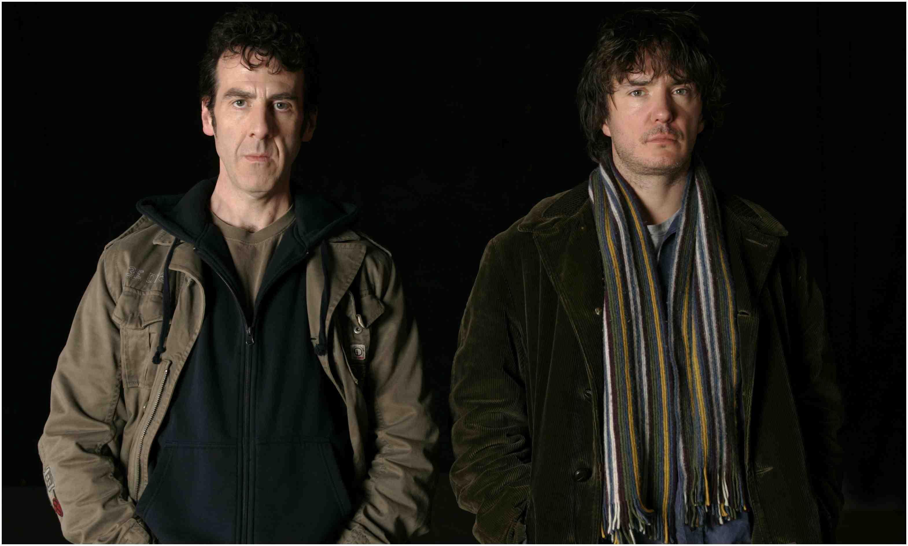 Mark (Mark Doherty) and Pierce (Dylan Moran)