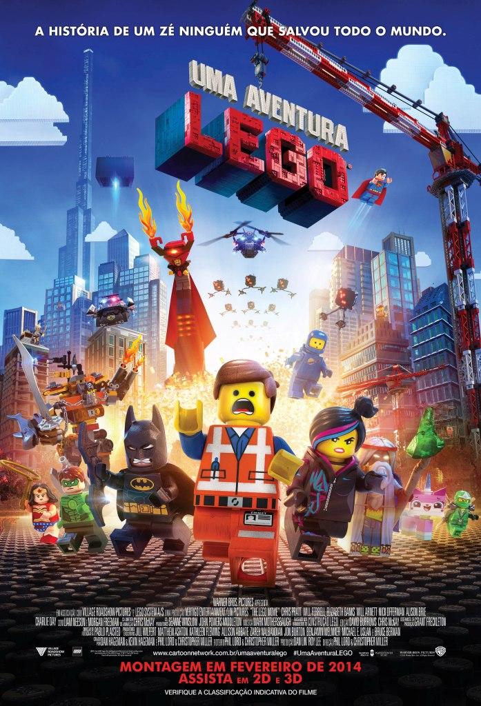 Uma Aventura Lego: pôster brasileiro