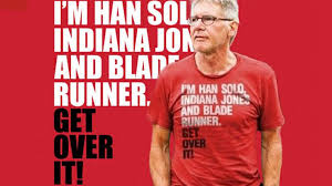 Harrison Ford - get over it