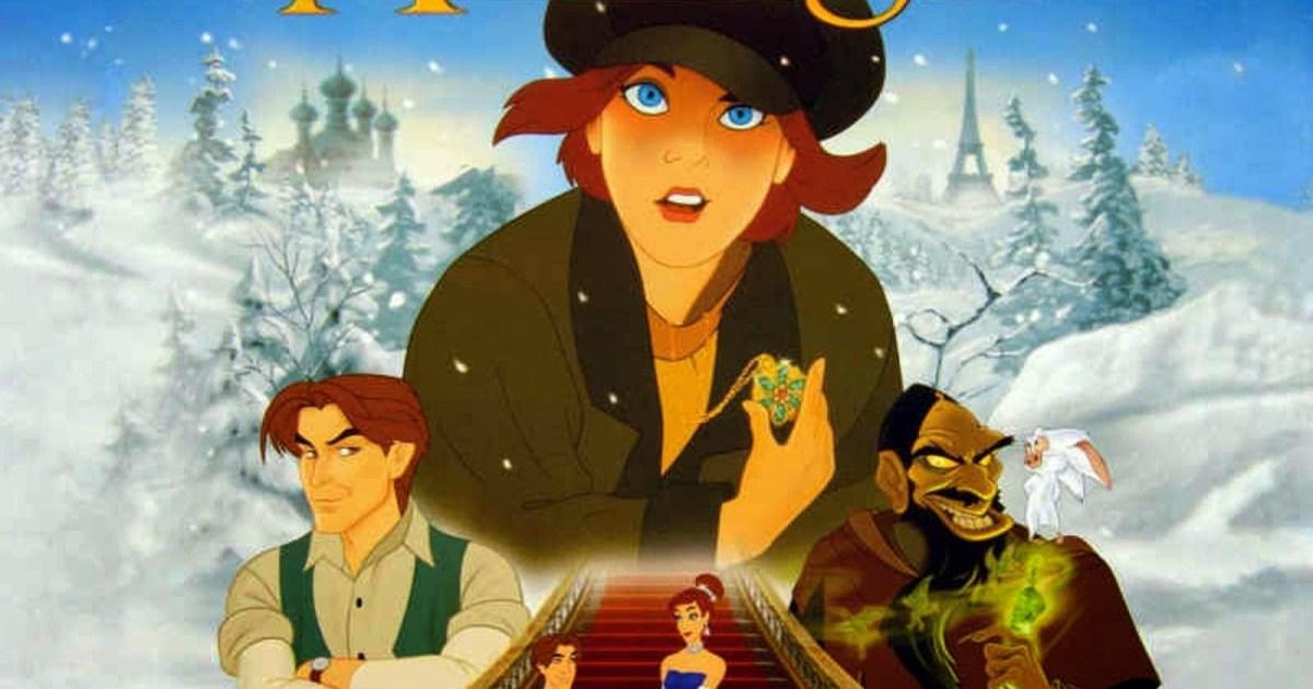 Cartaz do filme Anastácia