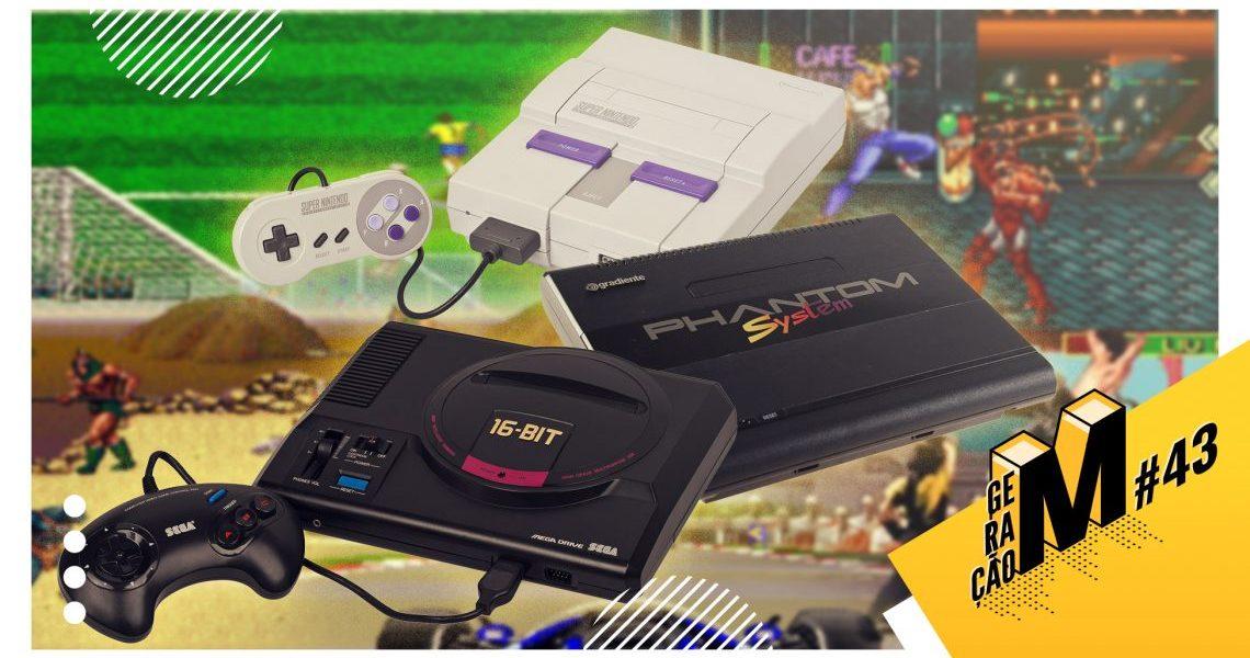 Geração M #43: Videogames que marcaram nossa infância