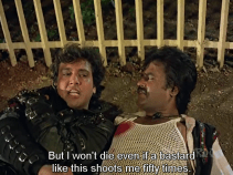 Gair-Kanooni-Govinda and Rajnikanth