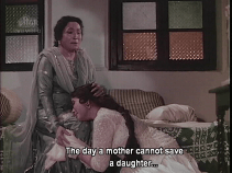Bahu Begum-crying and bonding