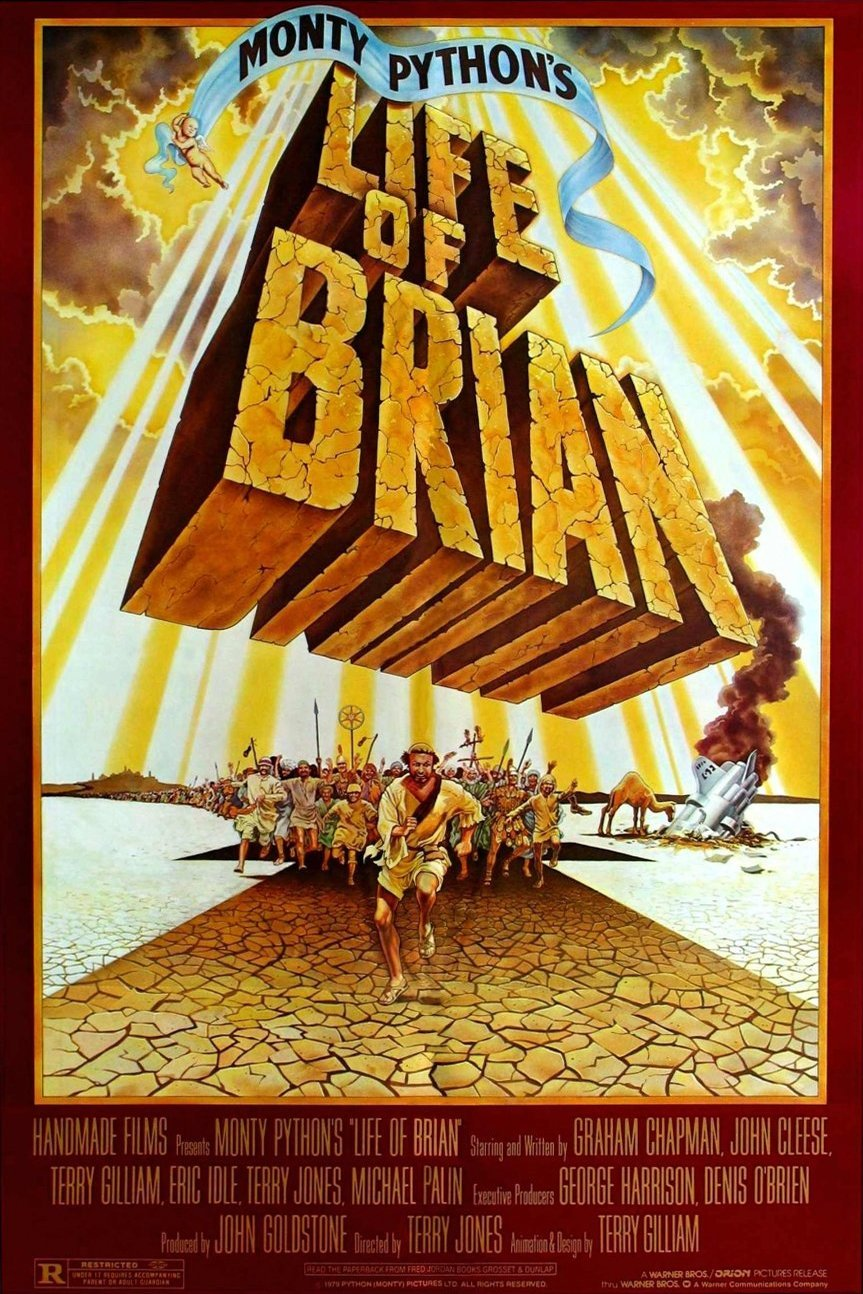 La Vie De Brian Streaming : brian, streaming, Monty, Python:, Brian, (1979), Terry, Jones
