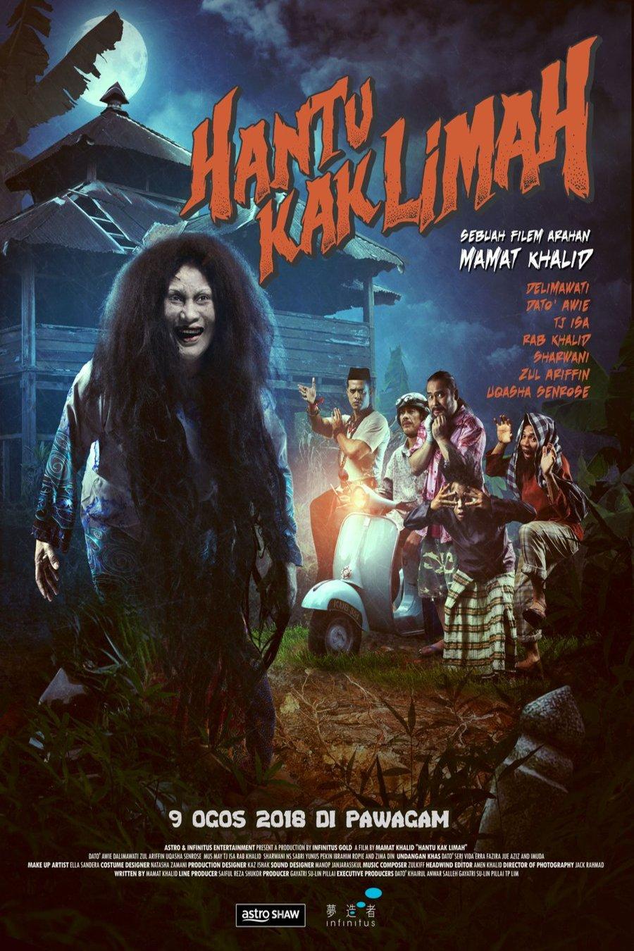 Hantu Kak Limah 2018 : hantu, limah, Hantu, Limah, (2018), Mamat, Khalid