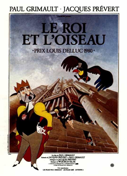 Le Roi Et L'oiseau Streaming : l'oiseau, streaming, L'oiseau, (1980), Grimault