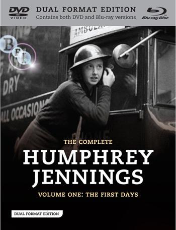 Humphrey Jennings en intégrale DVD/blu-ray chez BFI