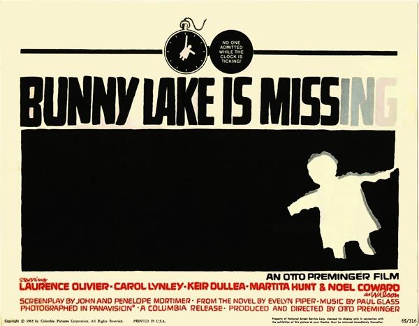 Bunny Lake is missing / Bunny Lake a disparu (1965)