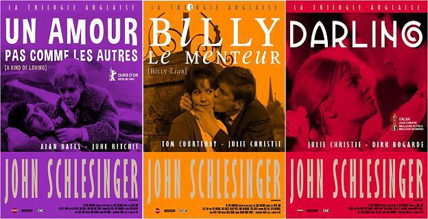 La trilogie anglaise de John Schlesinger en salles et DVD