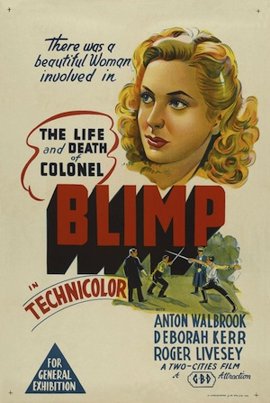Affiche Colonel Blimp