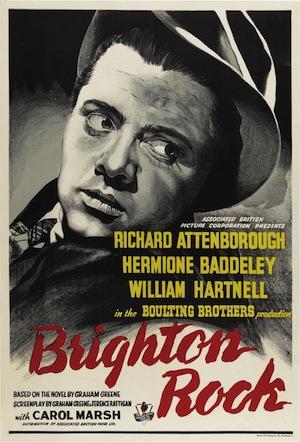 Brighton Rock poster 1947