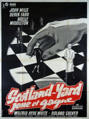 Scotland Yard joue et gagne