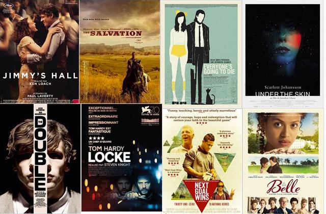 Sorties films UK 2014