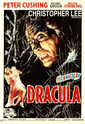 Dracula 1958 affiche