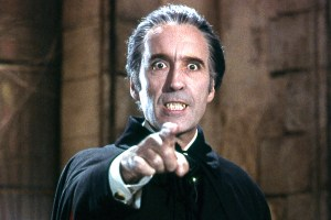 Sir Christopher Lee (Dracula, 1958)