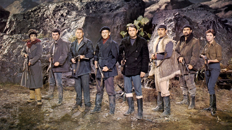 The Guns of Navarone / Les canons de Navarone (1961)