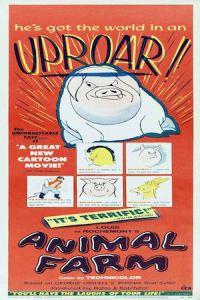 La ferme des animaux - affiche (1954)