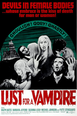 Lust for a Vampire (1971) affiche