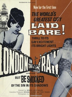 London in the Raw (1964) affiche