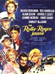 La Rolls Royce Jaune (1964) affiche