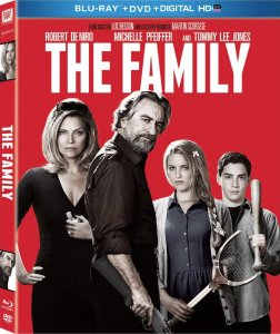 The Family Bluray Cover