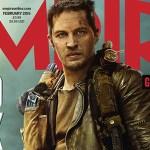 Tom Hardy Cubre la Portada de Empire Magazine Dedicada a 'Mad Max: Fury Road'; Nueva Imagen Detrás de Escenas