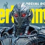 Mira de Cerca a Ultron, Vision y Los Vengadores en Portadas Conmemorativas de EW de 'Avengers: Age of Ultron'
