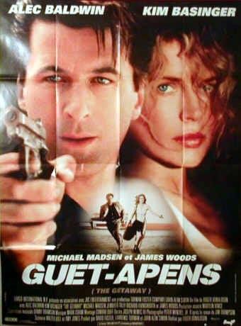 Guet-apens 1994 : guet-apens, Affiche, APENS, GETAWAY, CINEMAFFICHE
