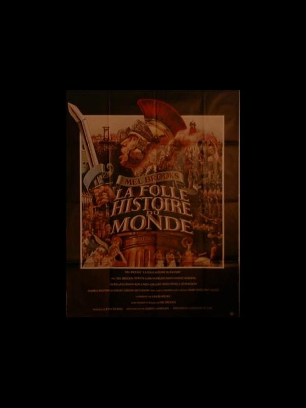 La Folle Histoire Du Monde : folle, histoire, monde, Affiche, FOLLE, HISTOIRE, MONDE, CINEMAFFICHE