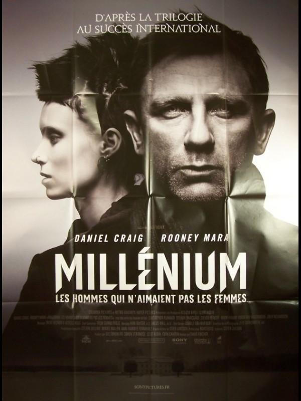 Millenium : Les Hommes Qui N'aimaient Pas Les Femmes : millenium, hommes, n'aimaient, femmes, Affiche, MILLENIUM, HOMMES, N'AIMAIENT, FEMMES, DRAGON, TATTOO, CINEMAFFICHE