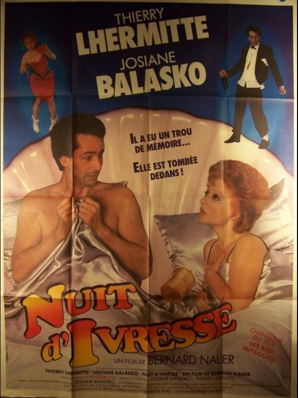 Nuit D'ivresse (film) : d'ivresse, (film), Affiche, NUITS, D'IVRESSE, CINEMAFFICHE