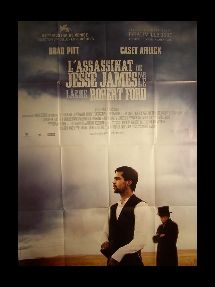 L'assassinat De Jesse James Par Le Lâche Robert Ford : l'assassinat, jesse, james, lâche, robert, Affiche, ASSASSINAT, JESSE, JAMES, LACHE, ROBERT, CINEMAFFICHE