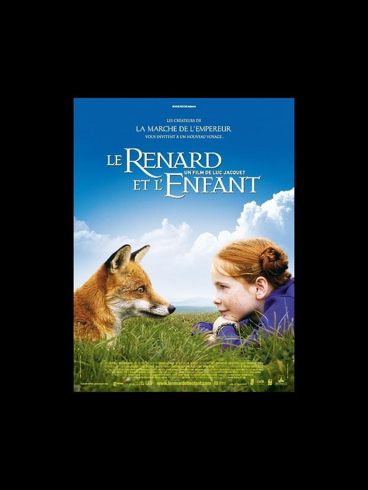 Le Renard Et L Enfant : renard, enfant, Affiche, RENARD, L'ENFANT, CINEMAFFICHE