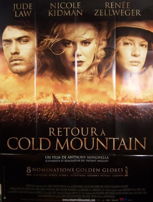 Film Retour à Cold Mountain : retour, mountain, Affiche, RETOUR, MOUNTAIN, CINEMAFFICHE