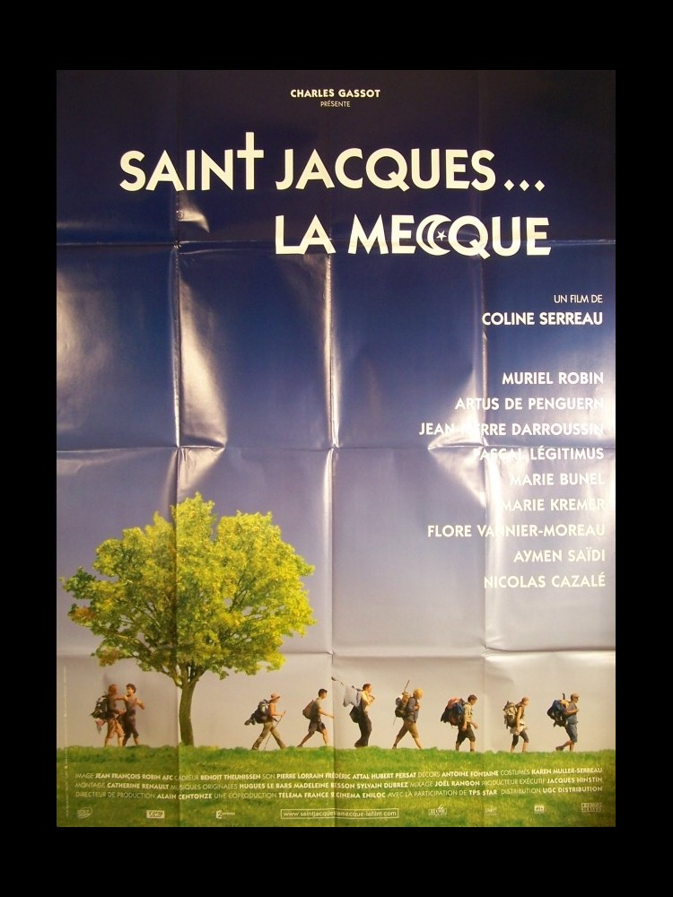 Film St Jacques La Mecque : jacques, mecque, Affiche, SAINT, JACQUES, MECQUE, CINEMAFFICHE