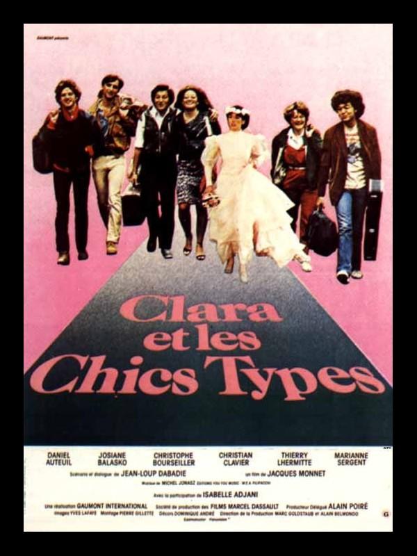 Clara Et Les Chics Types : clara, chics, types, Affiche, CLARA, CHICS, TYPES, CINEMAFFICHE