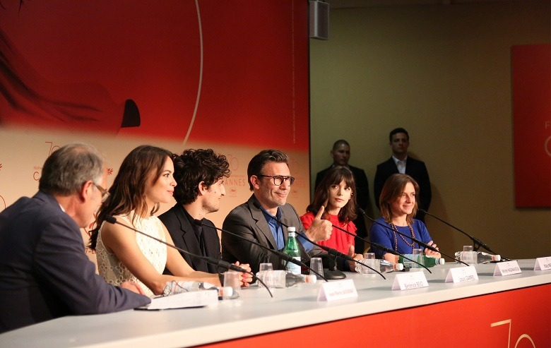 Le redoutable 2017 Press Conf Cannes 2017