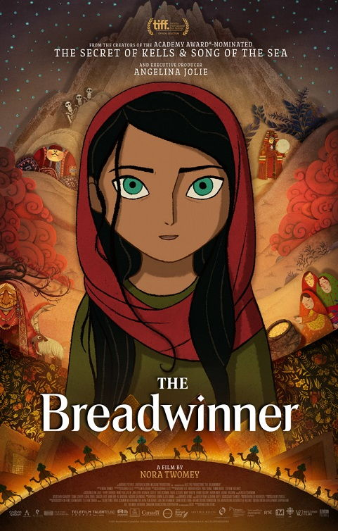 The Breadwinner 2017 (Добытчица)