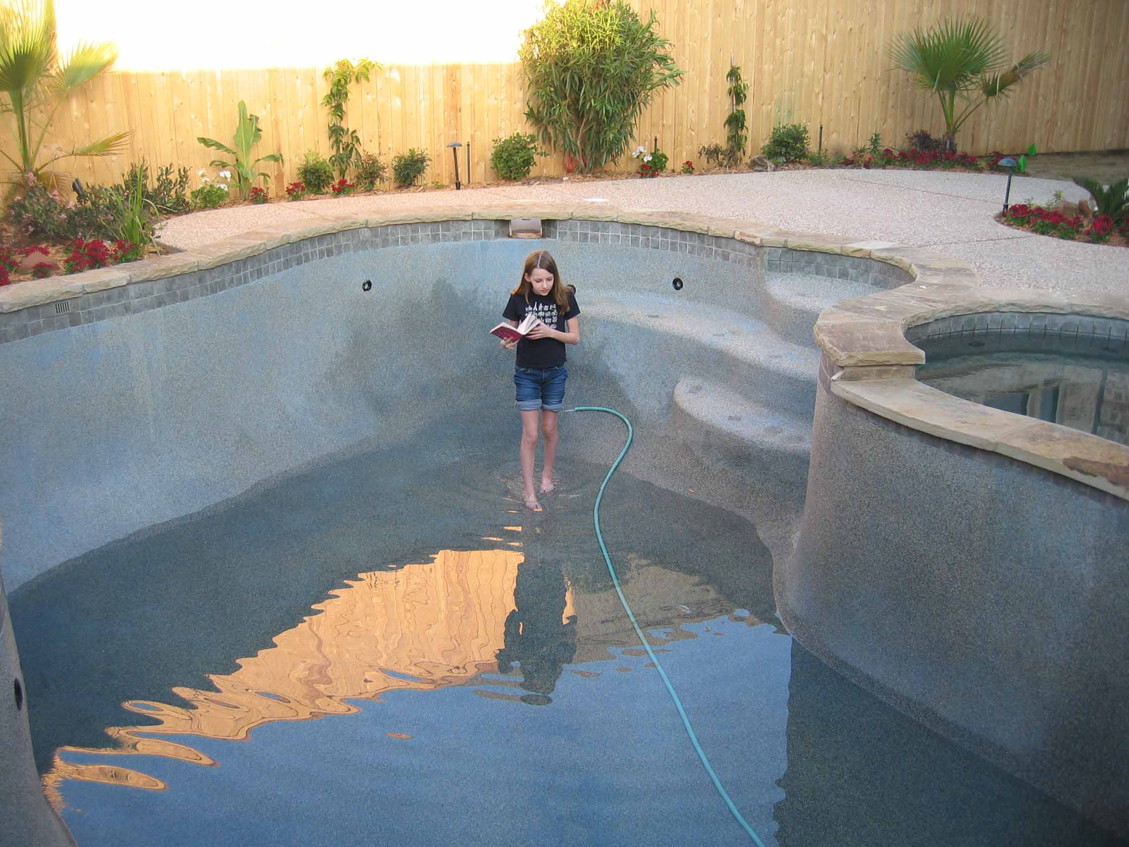 Seven Yearold Swimming Pool Architect  The Show Must Go On