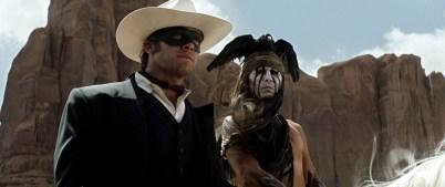 Armie Hammer è John Reid The Lone Ranger e Johnny Depp Tonto
