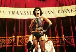 Io sono solo un dolce travestito da Transexual, Transylvania ..Tim Curry è il Dr. Frank-N-Furter
