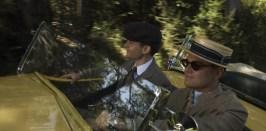 Tobey Maguire è Nick Carraway e Leonardo DiCaprio Jay Gatsby in Il Grande Gatsby