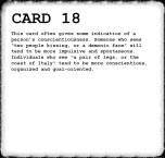 Inkblot Test Card 18 Answer