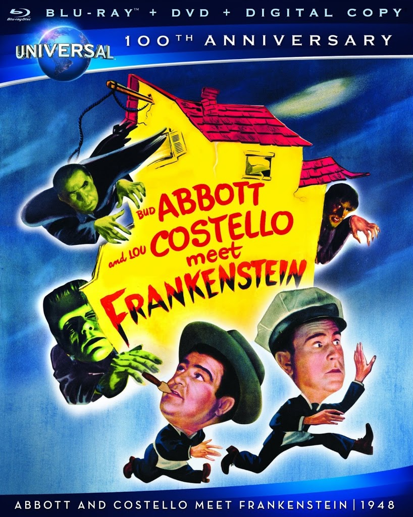 Blu-ray Review: Abbott and Costello Meet Frankenstein