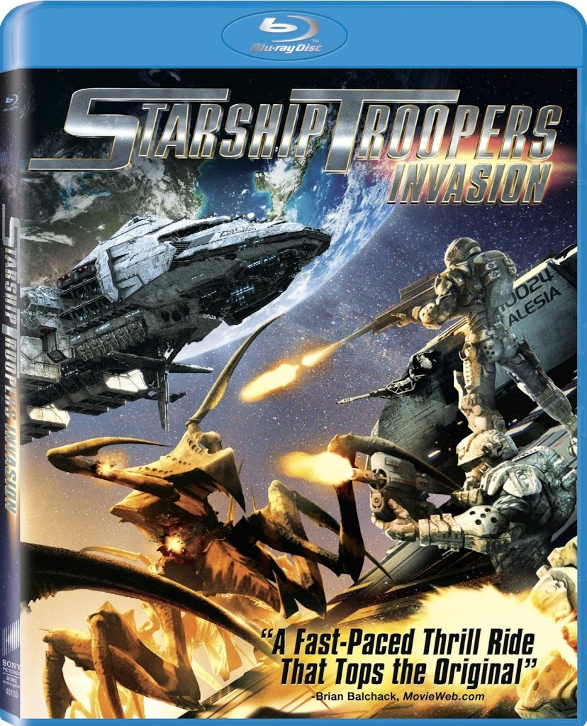 Blu-ray Review: Starship Troopers: Invasion